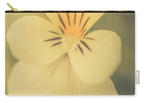 Pastel Pansy Carry-all Pouch