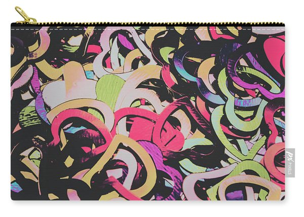 Pastel Pop Heart Carry-all Pouch