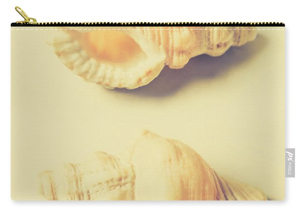 Pastel Seashell Fine Art Carry-all Pouch