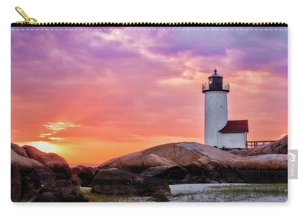 Pastel Sunset, Annisquam Lighthouse Carry-all Pouch