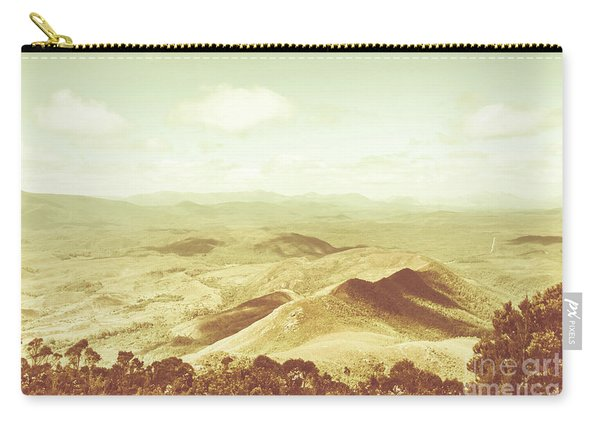 Pastel Tone Mountains Carry-all Pouch