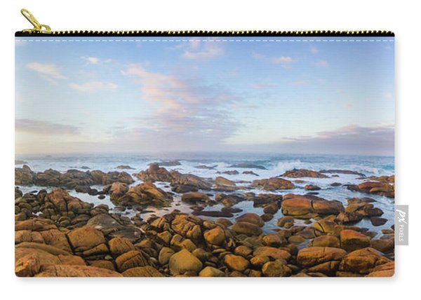 Pastel Tone Seaside Sunrise Carry-all Pouch