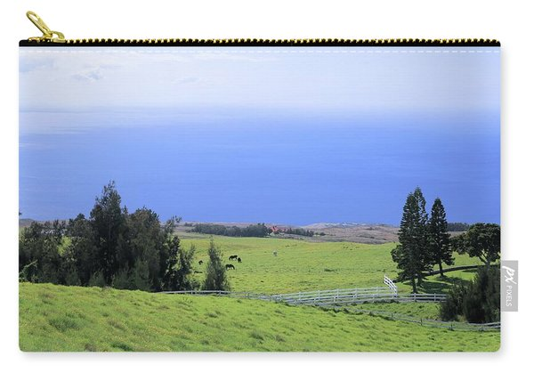 Pasture By The Ocean Carry-all Pouch