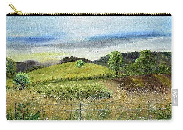 Pasture Love At Chateau Meichtry - Ellijay Ga Carry-all Pouch