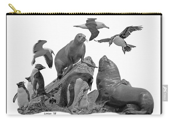 Patagonian Wildlife Carry-all Pouch