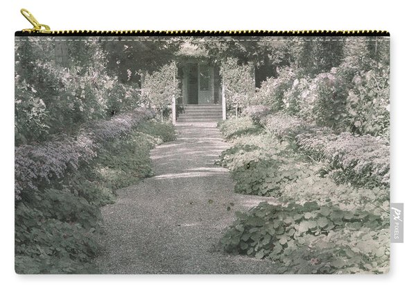 Path In Monet's Garden At Giverny Carry-all Pouch