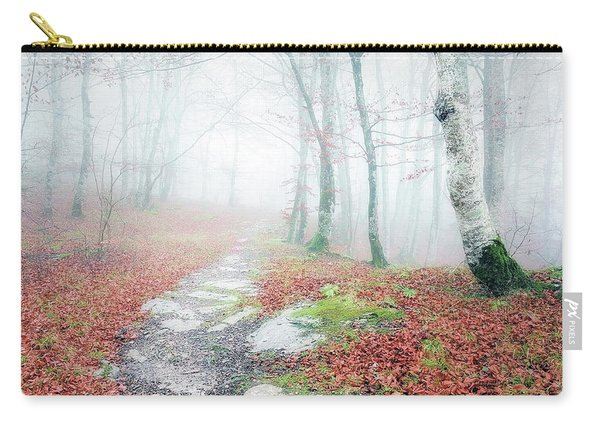 Path In The Forest Carry-all Pouch