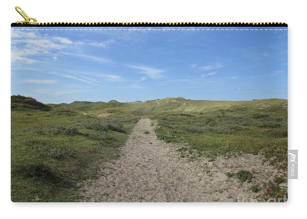 Path In The Noordhollandse Duinreservaat Carry-all Pouch