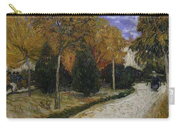Path In The Park At Arles Carry-all Pouch