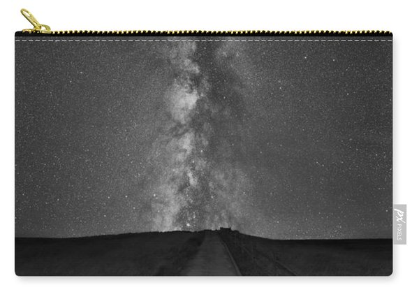 Path To The Stars Bw Carry-all Pouch