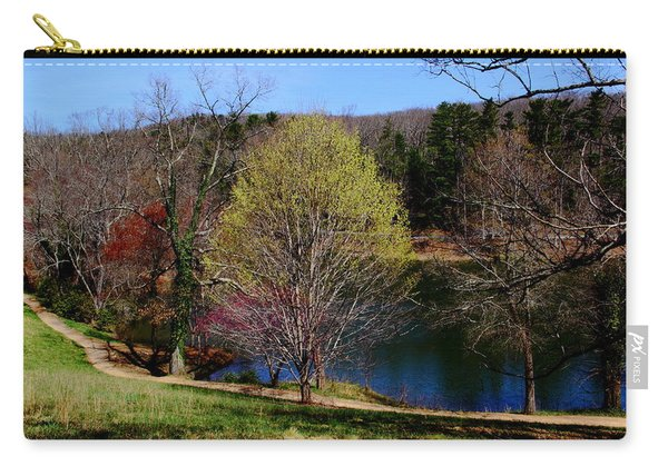 Pathway Beside Still Water Carry-all Pouch