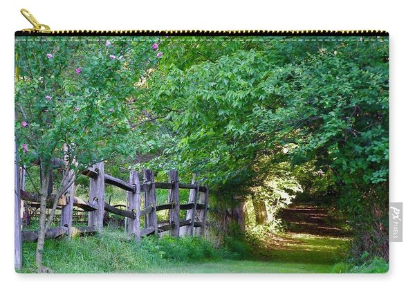 Pathway To A Sunny Summer Morning  Carry-all Pouch