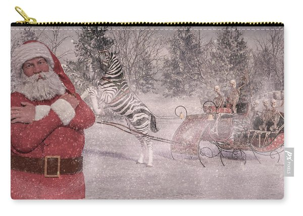 Patience Santa Patience Carry-all Pouch