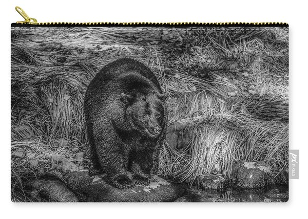 Patient Black Bear Carry-all Pouch