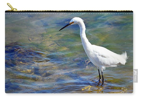 Patient Egret Carry-all Pouch