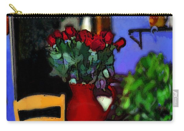 Patio Art 2  Carry-all Pouch