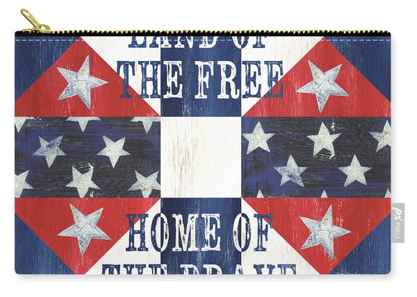 Patriotic Quilt 4 Carry-all Pouch