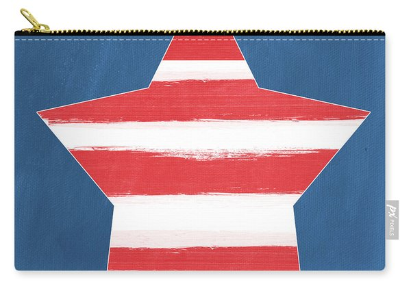 Patriotic Star Carry-all Pouch