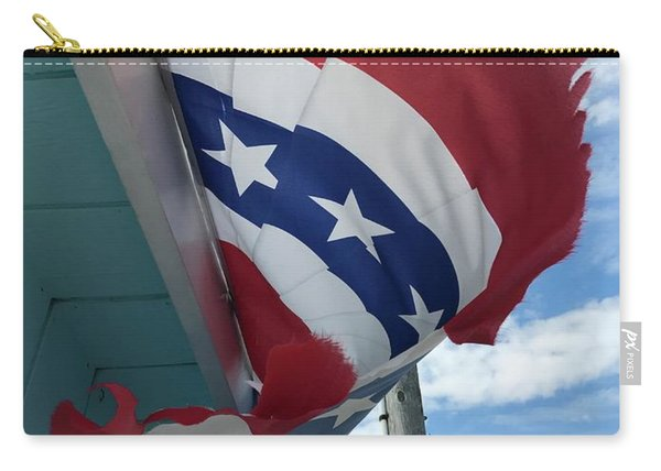 Patriotic Wave Carry-all Pouch