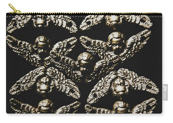 Pattern Of Antique Cupid Angels  Carry-all Pouch