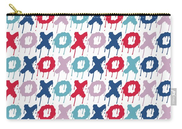 Pattern X O  Carry-all Pouch