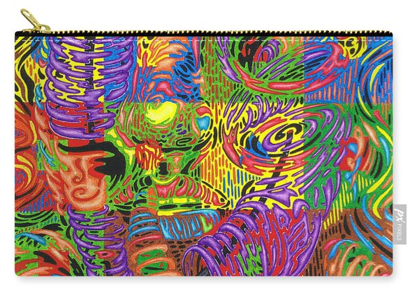 Patterns Of Personality Carry-all Pouch