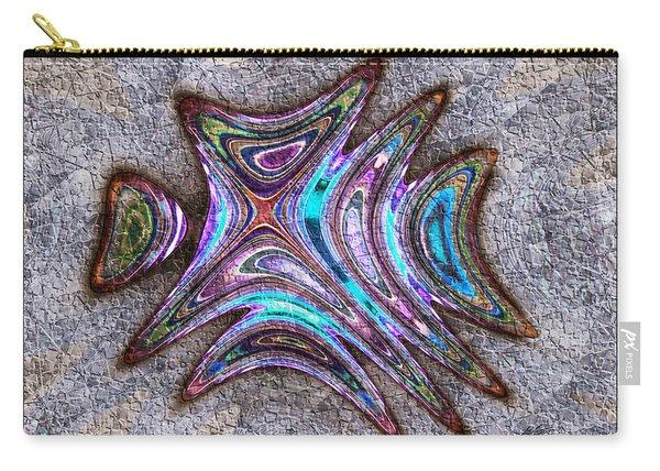 Paua Medallion Carry-all Pouch