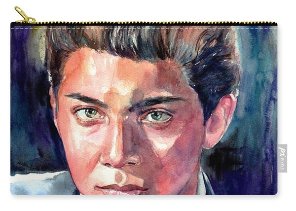 Paul Anka Young Portrait Carry-all Pouch