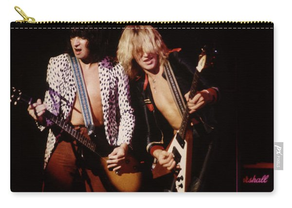 Paul Raymond And Michael Schenker Of Ufo Carry-all Pouch