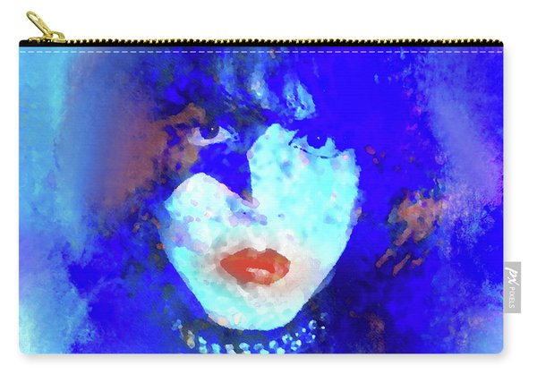 Paul Stanley Of Kiss - Portrait Carry-all Pouch