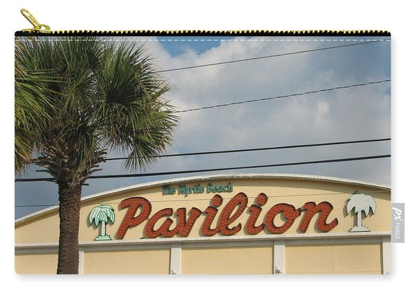 Pavilion With Palm Carry-all Pouch