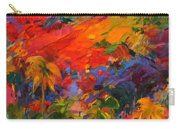 Paysage Polynesien Carry-all Pouch