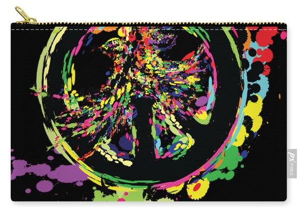 Peace And Peace Carry-all Pouch