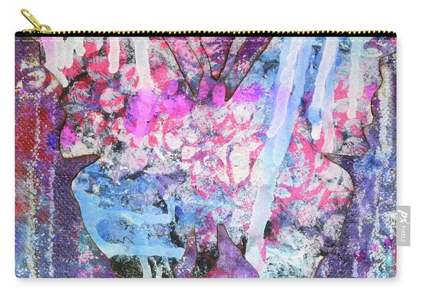 Peace Butterfly Carry-all Pouch