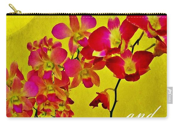 Peace Hope And Harmony Carry-all Pouch