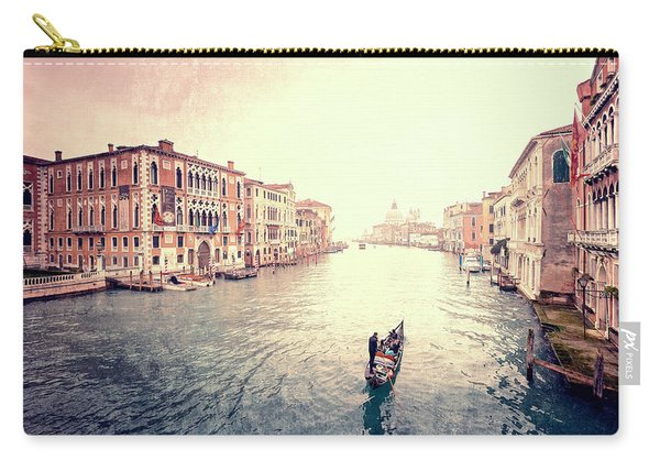 Peace In Venice Carry-all Pouch
