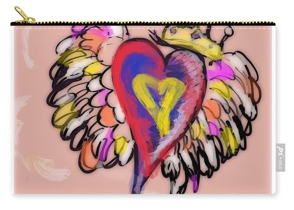 Peace. Love. Prayers. Carry-all Pouch