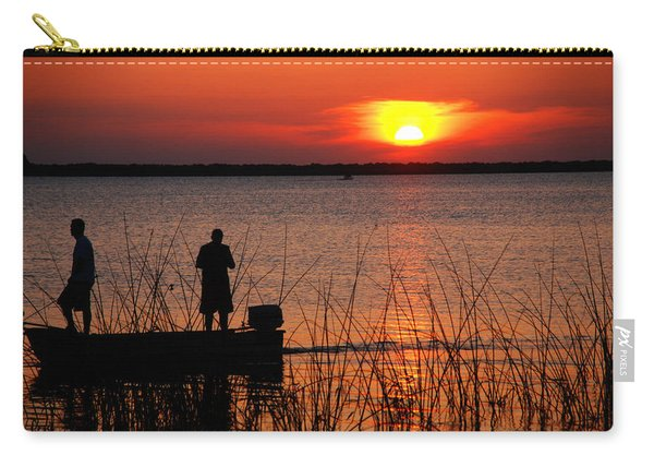 Peace Over The Water Carry-all Pouch