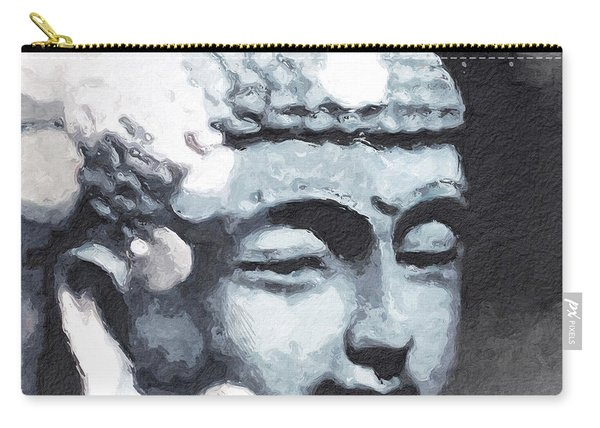 Peaceful Buddha 3- Art By Linda Woods Carry-all Pouch