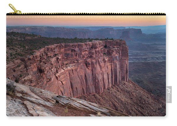 Peaceful Canyon Morning Carry-all Pouch