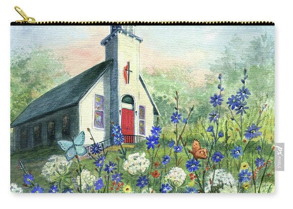 Peaceful Country Road Carry-all Pouch