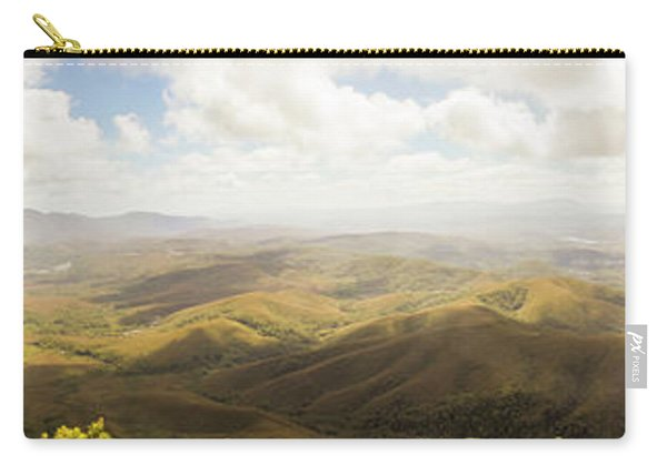 Peaceful Countryside Panorama Carry-all Pouch