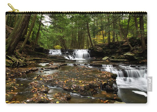 Peaceful Flowing Falls Carry-all Pouch