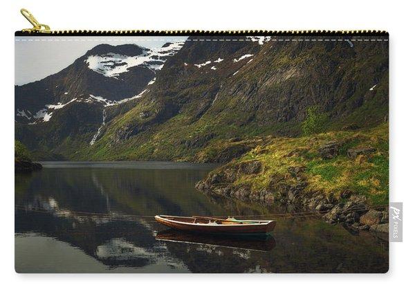 Peaceful Lofoten Carry-all Pouch