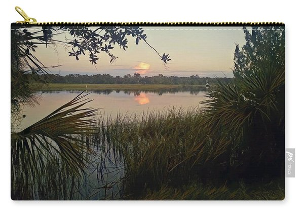 Peaceful Palmettos Carry-all Pouch
