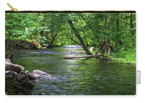 Peaceful Stream Carry-all Pouch