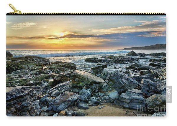 Peaceful Sunset At Crystal Cove Carry-all Pouch