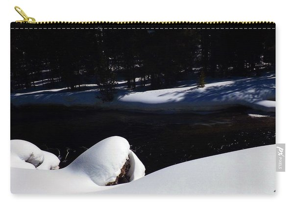 Peaceful Winter Scene Carry-all Pouch