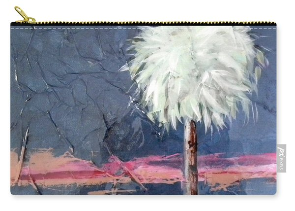 Peachy Horizons Palm Tree Carry-all Pouch