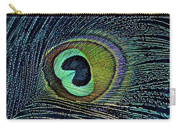 Peacock Plume Carry-all Pouch